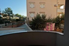 Výhled z terasy apartmánu