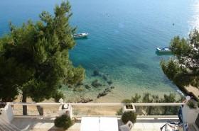 Pohled z terasy na moře