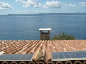 Solární ohřev na střeše