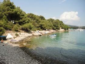 Další pohled na pláž