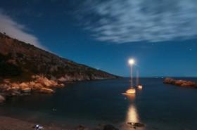 Noční pohled na moře