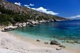 Tyrkysové moře v zátoce