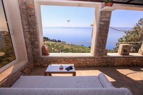 Překrásný výhled z terasy