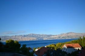 Výhled od domu na moře