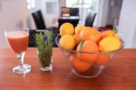 Užijte si čerstvý citrusový drink