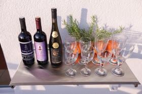 Pohodové posezení s vínem