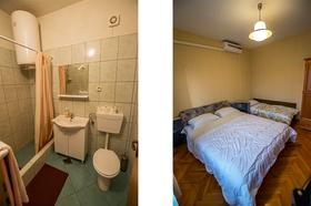 Koupelna a ložnice
