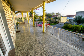 Prostorná terasa