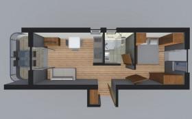 Pôdorys apartmánu
