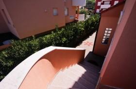 Vstupní schodiště do apartmánu