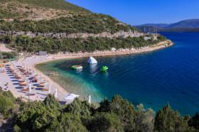 Pláž a aquacentrum