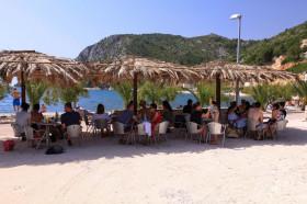 Restaurace na pláží