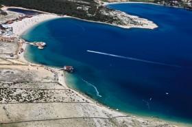 Pláže Zrće a Caska