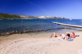 Pláže s pozvolným vstupem vhodné pro děti