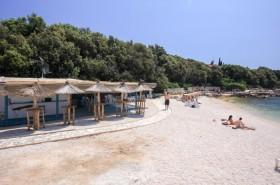 Posezení na pláži