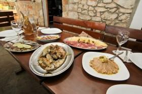 Dalmatské speciality v restauraci