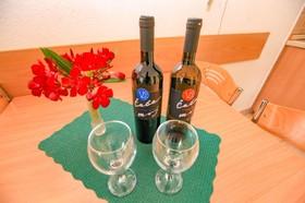 Vychutnejte si víno v apartmánu