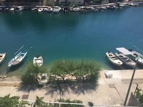 Výhled z balkonu apartmánu