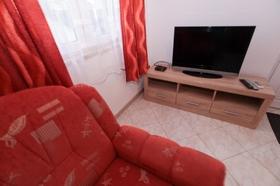 Televize v obývací části