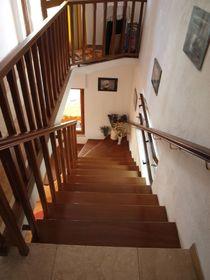 Mahagonové schodiště