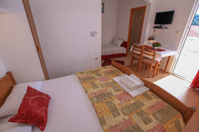 Detail obývacího pokoje
