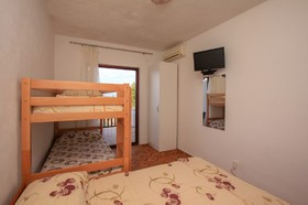 Detail ložnice