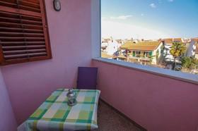 Balkon apartmánu